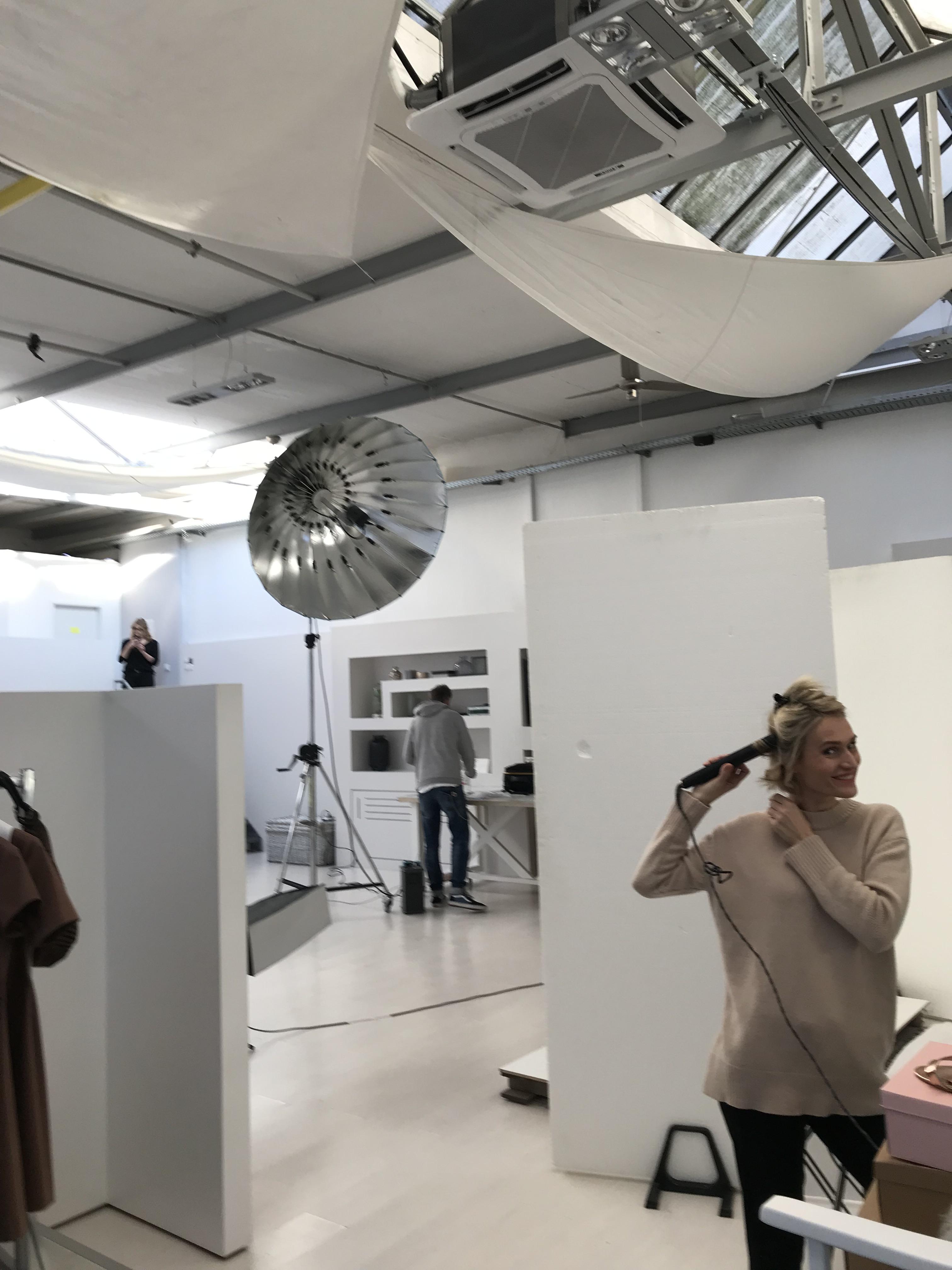 Fotoshooting Frühjahr/Sommerkollektion 2019